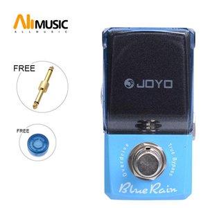 Joyo Blue Rain Overdrive Efeito pedal de guitarra Pedal JF-311 New Ironman Mini Series Efeito com conector do pedal e Mooer Knob