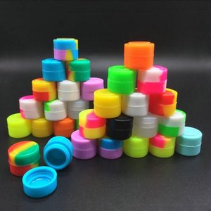 2016 US Lego Wax Silicone butane Oil concentrate Container or silicone wax jar Bho Non Stick Slick oil Dab wax jarStorage Bottles Jars bde20