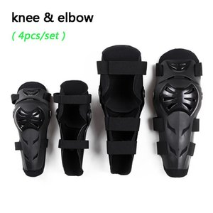 4pc s Outdoor Sports Protective Gear Motorcycle Off-road Riding Racing Roller Skating Knee & Elbow Protective Pads