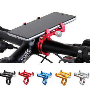 Gub G85 de metal da bicicleta Titular Motorcycle Handle Telefone Monte guiador Extender Phone Holder para o iPhone Celular Gps Etc