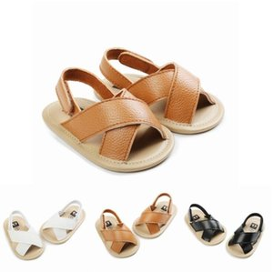 Baby-Sandelholz-Kind-Jungen weiche Unterseite erste Wanderer Prewalker Summer Beach Antiskid Hausschuhe beiläufige kühle Schuhe Fashion Sandalen Schuhe YP680
