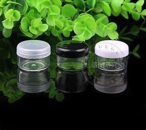 Gevşek toz krem kozmetik kabın Ücretsiz Kargo 2000 adet / lot açık 3g plastik krem kavanoz