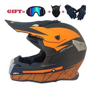 Nouvelle FOX complète hors route des hommes de casque de moto et les femmes quatre saisons VTT casque casque descente DH à envoyer trois pièces