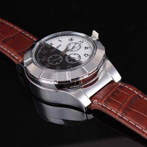 orologi di lusso Accendino USB Military Watch ricarica sport casual da polso al quarzo antivento senza fiamma della sigaretta del sigaro della VTS007