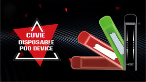 Original HQD Cuvie descartável Vape Pen 280mAh mais de 300 Puffs e-cig dispositivo descartável Small Size