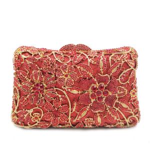 XIYUAN Womans Bags Brand Designers Luxury Bridal Wedding Party clutch purse Wedding Dress Bridal Diamond Chains Shoulder Handbag