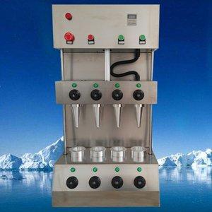 110V 220V popüler bir pizza koni makinesi ticari pizza yapma makinesi zaman ve çaba kalite güvencesini kaydeder