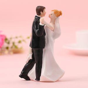 FEIS Cake Topper Wedding توريد العروس والعريس والرقص الزفاف الأحداث زينة الزفاف دمى