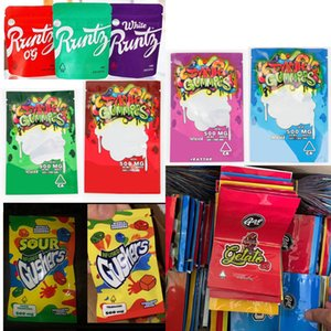 Nouvelle arrivée Dank gélifiés Maylar Zipper Sac tabac sec Sac détail Gummy sacs de mylar bonbons Vape Pen sacs d'emballage