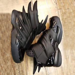Бесплатная доставка Джереми х Оригинальные Крылья 3,0 Тройной черный Женщины Мужская мода Avantgarde Личностей Повседневная обувь Vintage Размер 36-44
