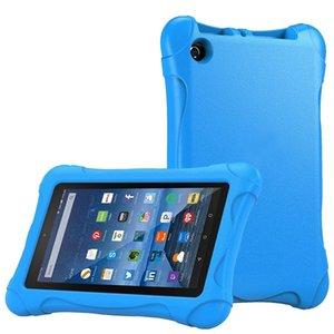 Caso a prueba de golpes barato Tablets e-Books Kids Case cubierta para Amazon Kindle Fire HD 7 2015/2017 niños grueso de espuma EVA contraportada
