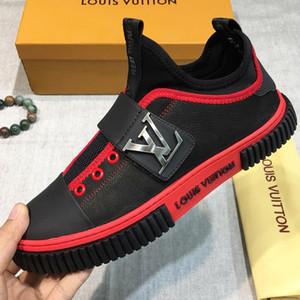 2019 новый итальянский бренд высокого качества мужская повседневная обувь мужская спортивная обувь кожа стрейч дизайн ткани модные мужские плоские туфли оригинальные qy