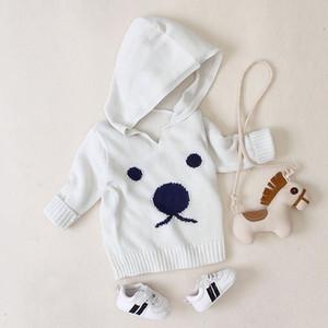 Toptan 2020 Yeni için Moda Tasarımcısı Çocuk Kapüşonlular Patlama Çocuk Ayı Pritned Hoodie Triko Boys Kız Lüks Casual Giyim