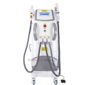 IPL Skin Rejuvenation Machine Elight OPT SHR RF Nd Yag Laser Hair Removal Tattoo Freckle Removal Multifunctional Beauty Equipment