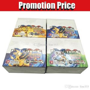 EX / GX / XY Jugando Juegos de Cartas Coleccionables Sun Moon Versión Edición en Inglés Anime SOMBRAS QUEMADAS Poket Monsters Tarjetas Juguetes para niños 324pcs / lot