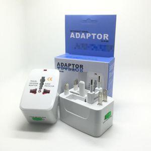 Горячая все в одном универсальном во всем мире удобное зарядное устройство для путешествий Power UK AU US EU Plug Adapter с упаковкой