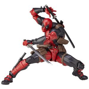 Pazzo PVC dei giocattoli Deadpool originale di arti del gioco di caratteri figura di azione da collezione Toy Modello con vendita al dettaglio del regalo di compleanno