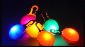 تضيء طوق الكلب الصمام مصباح الإضاءة LED ضوء ينبعث منها الحيوانات الأليفة الجرو الحيوانات الأليفة الملحقات قلادة امض سلسلة المفاتيح فلاش علامة الكلب Epacket الحرة