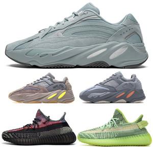 700 Kanye West Shoes V2 Yecheil Yeezreel Nero Nero Riflettente Nube Bianco Citrino Synth Statico Zebra Clay Venerdì Ospedale Blu Vanta Cyber Lunedì