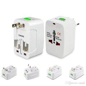 Perakende Paketi İÇİN Samsung S8 ile Bir Gezi AC Güç Duvar Şarj için ABD, AB UK AU Dönüştürücü Plug Universal Uluslararası Adaptörü Tüm