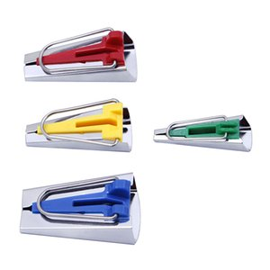 Dikiş Aksesuarları Önyargı Bant Makineleri - 4 Boyutu 6mm 12mm 18mm 25mm Önyargı Binding Tape Maker ZC0785