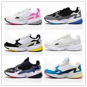 Falcon W zapatillas de diseñador para mujer Zapatillas Triple Black and White Primeknit rosa gris Zapatillas deportivas para mujer US5-11