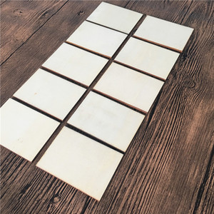 Square Wood Chips Rectangle Diy Painted Unfinished Arts Woman Man Fashion Accesories Blank Wooden Slices Party Gift 0 23ty K2