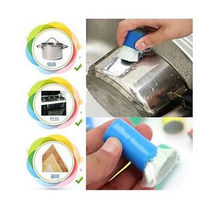 Новая магия нержавеющей стали металл для удаления ржавчины для очистки Моющих Стик Wash Brush