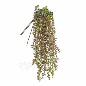 الأزياء الاصطناعي زهرة الكرمة وهمية الحرير الدولار الفضي الأوكالبتوس معلق الخضار النباتية للالديكور زفاف الزهور PartywareT2I5618