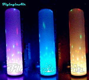Trasporto libero 3m / 2m LED che accende la luce gonfiabile del partito della colonna variopinta della colonna