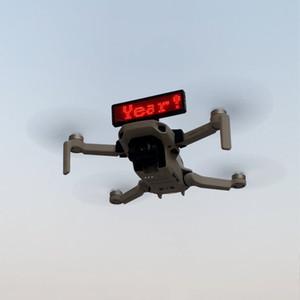 가전 빌보드 디스플레이 설치 DIY 브라켓 DJI MAVIC 미니 빠른 릴리스 LED 배지 브래킷 액세서리 스탠드 드론