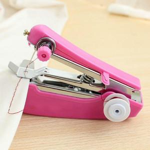 Abbigliamento mini macchine per cucire Needlework Cordless Hand-Held Utili portatili Macchine da cucire di lavoro manuale Strumenti Accessori