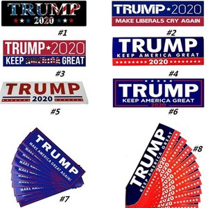 US President Donald Trump Sticker Publicity Car Sticker Fashion Poster Exquisite Stickers 10pcs Home Garden Stickers Party Decoration 6002
