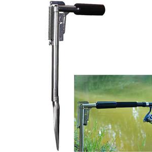 Soporte de soporte de caña de pescar automático Soporte de soporte de soporte de acero inoxidable ajustable Accesorios de aparejos de pesca Resto de soporte de caña de pescar