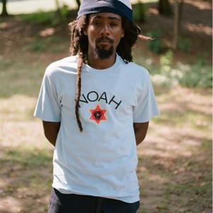 18FW N0AH x Tuff Gong Núcleo tee Rodada pescoço T Impresso parte inferior camiseta de manga comprida T-shirt dos pares da forma verão Highstreet HFTTTX116