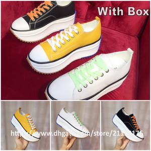 With Box Women Size 35-40 Top Quality JW Anderson Run Star Hike White Black Yellow Platform fashion show Women's Casual Shoes