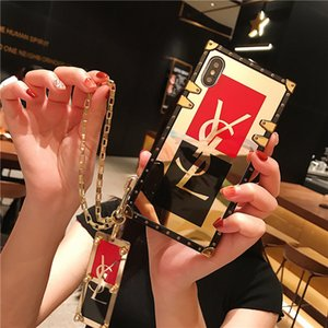 cajas del teléfono del diseñador de lujo para Iphone 11 Pro X Xr Xs Max Huawei P40 P30 P20 Lite Mate20 Mate30 Pro Cubierta para Samsung S20 Ultra Plus Nota 10