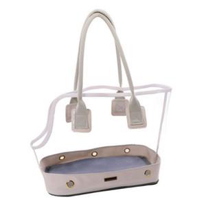Симпатичного Transparent Малого Pet Cat Dog Travel Luxury Carrier Bag Чихуахуа Собака Щенок Открытых переноски сумка Tote сумка белой