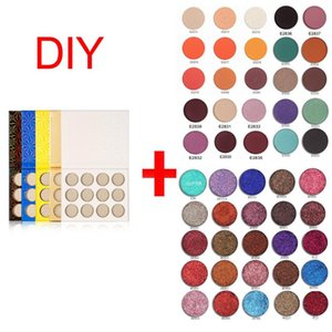 2020 New Trends DIY Eye Shadow Private Label Palette No Logo Custom Brand Matte and Shimmer Eye Shadow