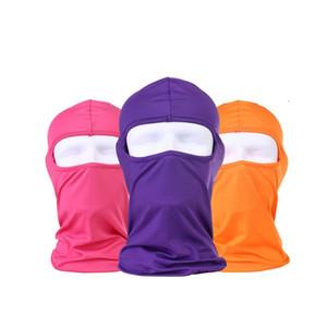 Moda traspirante protezione solare maschera di protezione maschere bicicletta sole maschere di protezione di sport della polvere sia per gli uomini e le donne 17 colori T3I5735