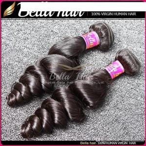 G 8 &Quot ;-30 &#039 ;&#039 ;Peruvian Human Hair Extension Natural Color Loose Wave Hair Weave Free Shipping Bella Hair