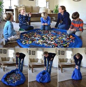 Bebek oyna Mat Saklama Poşetleri Çocuklar Oyuncak organizatörü Çalma Mats Taşınabilir Oyuncak Kilim Kutuları Organizasyonu Noel Hediyesi GGA1429 Blanket