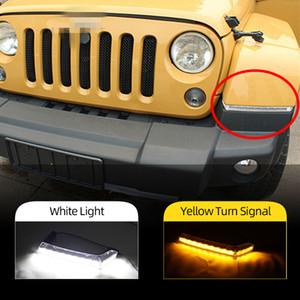 2 STÜCKE für Jeep Wrangler 2008 2009 2010 2012 2013 2014 2015 LED Daytime Light Lights DRL Blinker Signal Lampe Auto Styling