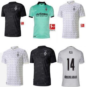 20 21 Monchengladbach soccer jersey home away 2020 2021 ZAKARIA KRAMER GINTER A.PLEA THURAM VfL Borussia FOOTBALL SHIRTS