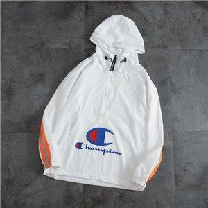 2020 Arrive Printemps Automne des femmes des hommes Designerjackets coupe-vent Manteau Zipper Casual Brandjackets-vêtement Veste Active Running