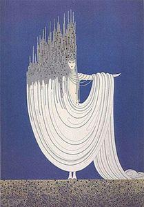 ERTE»- THE ARCTIC SEA - тисненый Home Decor расписанной HD печать Картина масло на холст Wall Art Холст картинки 191102