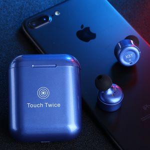 fone de ouvido sem fio de alta qualidade Correndo fone Esporte TWS Blue Tooth 5.0 auriculares estéreo Verdadeiramente sem fio com carregamento caso