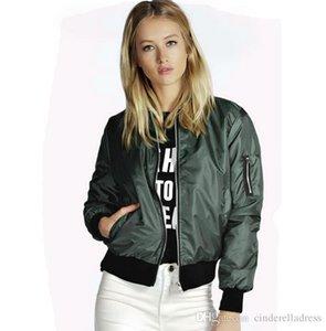 Jacket de 2020 Modern jaqueta corta-vento verão Mulheres Casacos manga comprida Casacos básicas Bomber Fina Mulheres Feminino Casacos Outwear