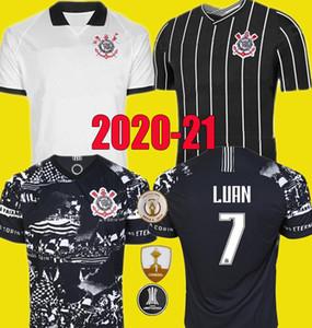 2020 2021 Corinto nueva camiseta de fútbol Paulista 19 20 21 # 10 # 7 pedrinho M.BOSELLI LUAN Vagner Love FAGNER camiseta de fútbol Uniforme