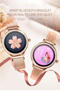 M88 Women Smart Watch Wristband IP68 Waterproof Lady Smart Band Heart Rate Monitor Fitness Tracker Health Bracelet Wristwatch pk DZ09